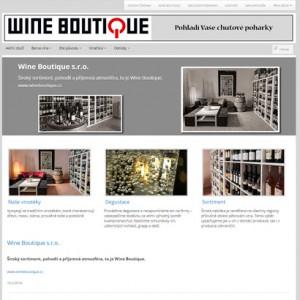 E-shop Wine Boutique s.r.o.